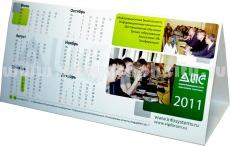 Календарь домик с листа формата А4 компании АИС