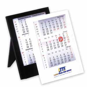 Календарь настольный в пластиковой рамке